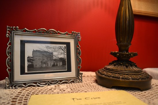 Naperville, IL: A glimpse inside The Victorian Room.