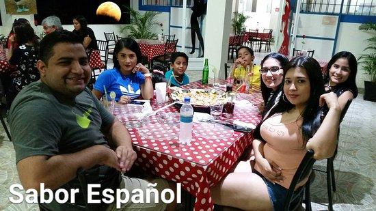 Sabor Espanol: Gracias a todos por estar aquì ¡¡