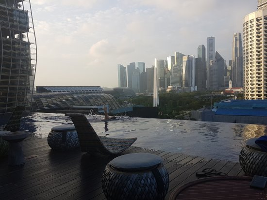 Naumi Hotel: Rooftop pool