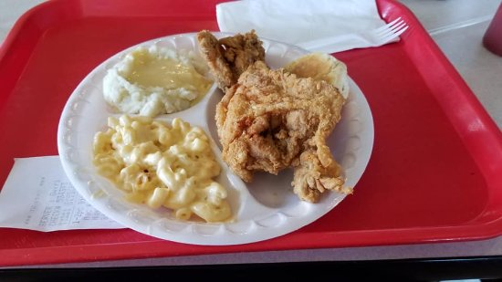 Plymouth, Carolina del Norte: My 2pc all white meat dinner