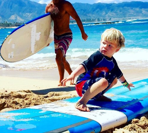 Catch'a Wave: Family Surfing, everyone gets to be apart of the fun with the Surf Instructor