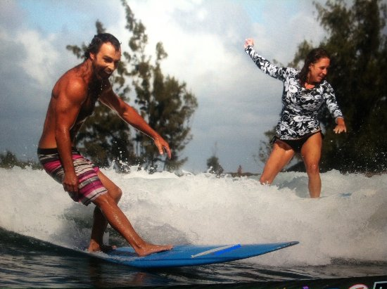 Catch'a Wave: Surf Classes and Couples Surf Lessons available daily, great experience