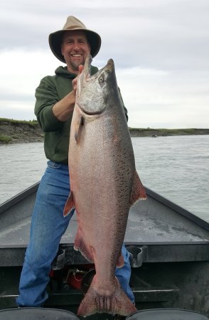 Kenai, AK: King salmon on the Kasilof river
