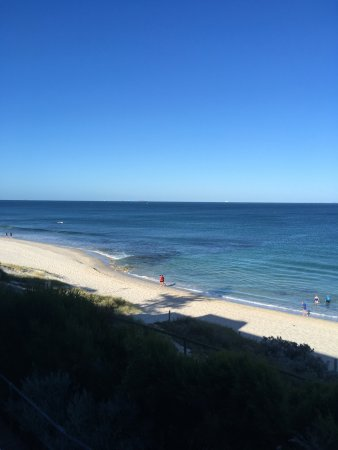 Cottesloe, Australia: View from the balcony