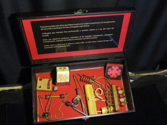 Museo de la Magia: Juegos de Ingenio del Mago Zapata