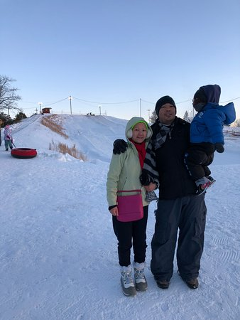 Hazleton, PA: snow tubing area