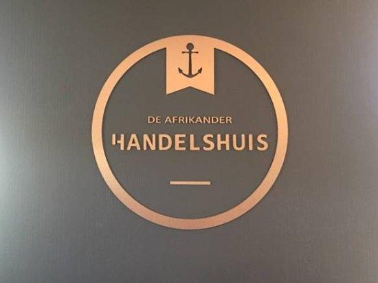 Centurion, South Africa: Entrance of De Afrikander Handelshuis