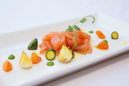 Hadlow, UK: Our restaurant food