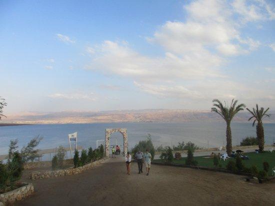 קליה, ישראל: Jordanien mitt emot