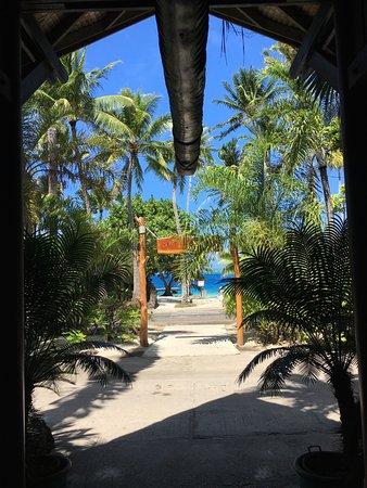 Maitai Polynesia Bora Bora : vue de la réception