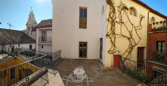 Las Casas de la Juderia: Our terrace