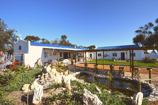 Yzerfontein, جنوب أفريقيا: With out large open spaces we are pet and child friendly 