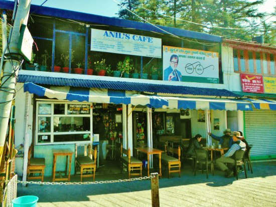 Anil's Cafe Char Dukan , Mussoorie: Anil's Cafe is a nice place to sit and enjoy the view when visiting!