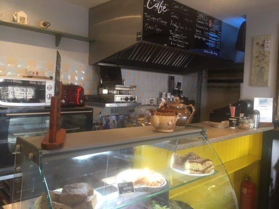 Kennford, UK: Menu and offerings :)