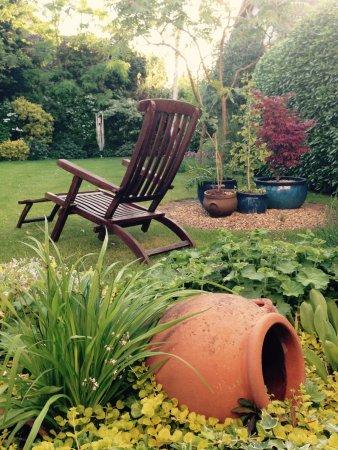 Beyton, UK: View from Garden room