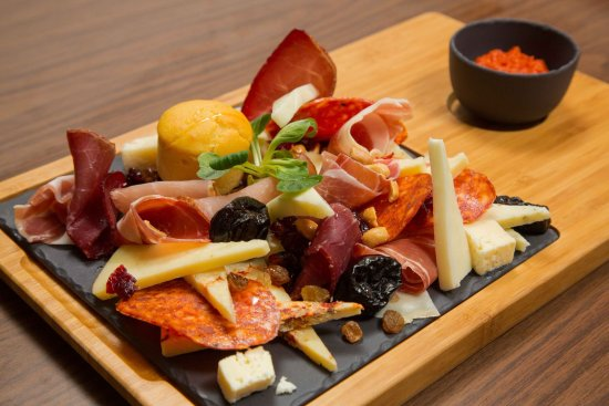 Bar Municipality, Montenegro: Selection of Montenegrian Prosciutto and Cheese