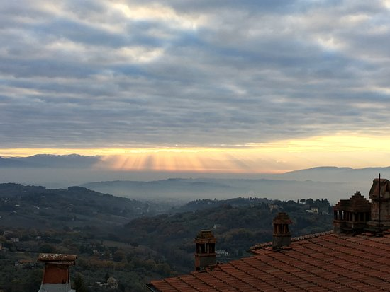 Province of Perugia, Italien: View from B&B 7 Baci