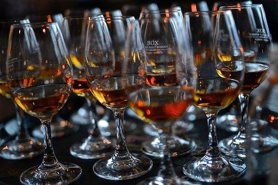 Kramfors, Sverige: Book a whisky tasting.