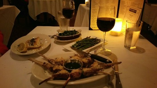 Sperry's Restaurant: Picture of the dinner described in my review. It was so good!