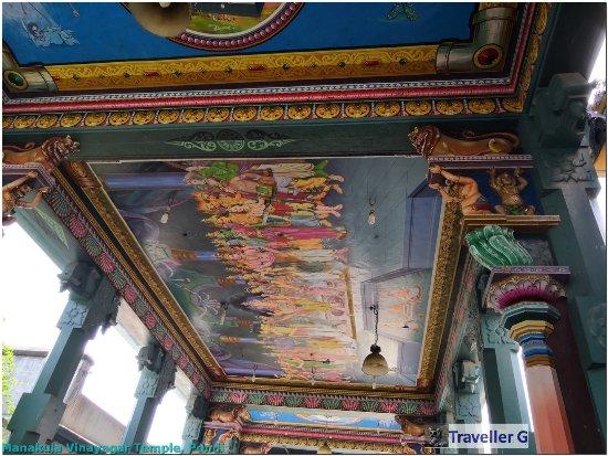 Arulmigu Manakula Vinayagar Temple: Manakula Vinayagar Temple, Pondi -  by Traveller G