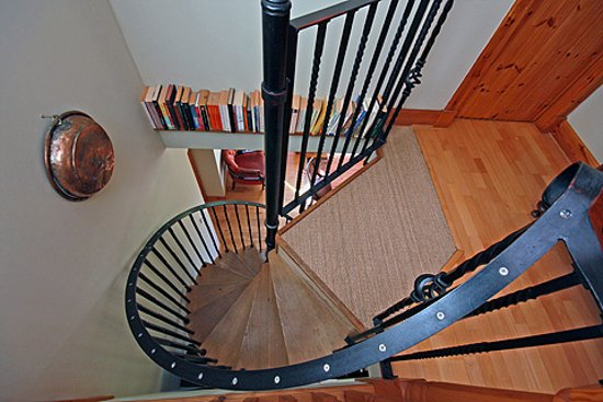 Culbokie, UK: Spiral staircase