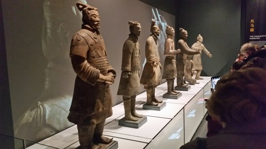 World Museum: Some of the larger figures