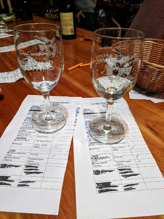 Richmond, MA: Wine tasting