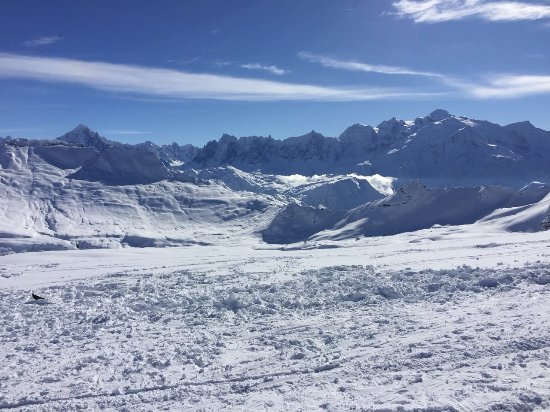 Piste in Flaine - Picture of Domaine skiable FLAINE, Flaine ...