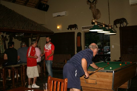Marloth Park, Sudáfrica: Pool league on Wednesday evenings from 18h00