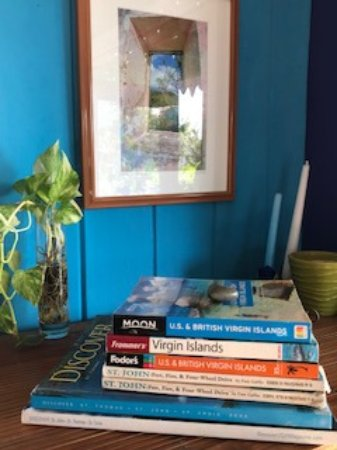 Garden by the Sea B&B: St John guide books