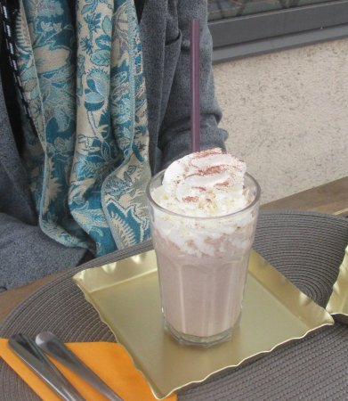 Zaventem, Βέλγιο: Chocolate milkshake