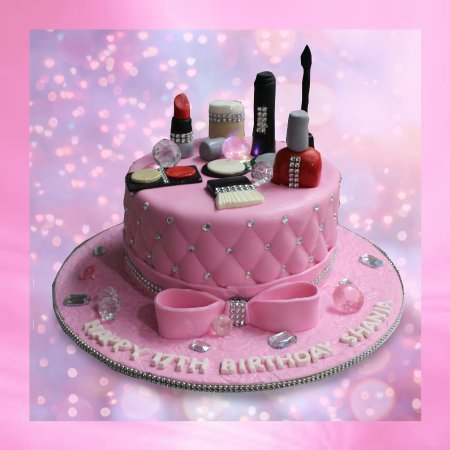 Makeup Cake - Picture of Bakery Treatz