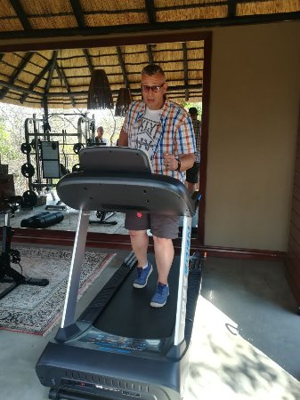 "Welgevonden Game Reserve, South Africa: ""excersize or not"" - by the Spa area"