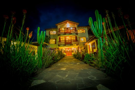 Coya, Perù: Vista exterior del Hotel