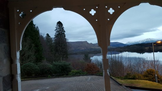 Loch Awe Hotel: From front of hotel