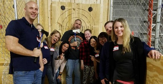 Lucky Axe Throwing Atlanta