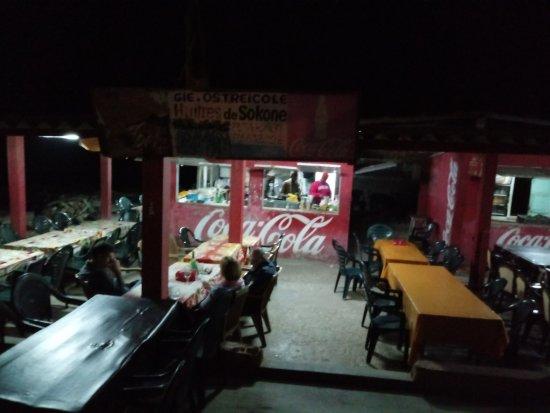 Pointe des Almadies, Senegal: El local