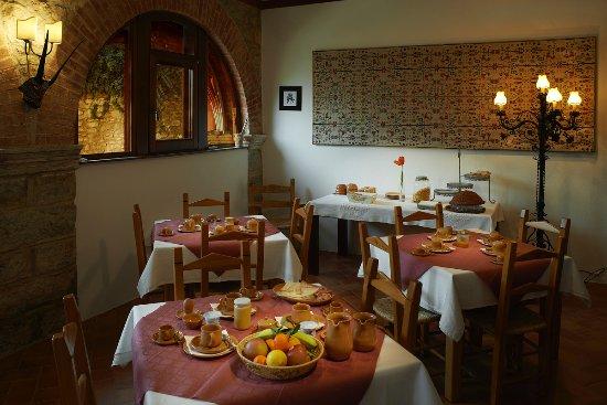 Mandas, Italie : zona colazioni