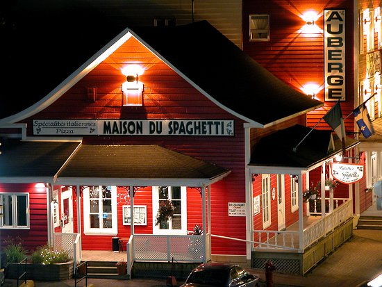 Maison Du Spaghetti Rimouski Menu Prices Restaurant Reviews Tripadvisor