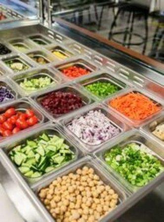 Bloomfield Hills, MI: Fresh Salad Bar
