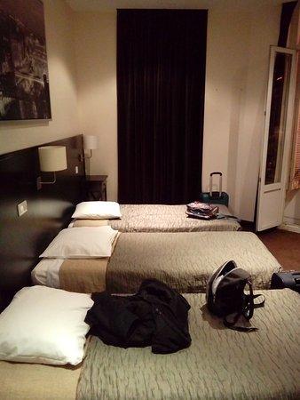 Hotel Trocadero: pokoj 4 osobowy