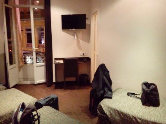 Hotel Trocadero: pokój 4 osobowy