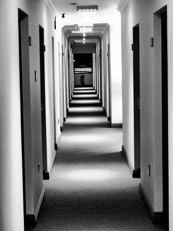 Hotel Martin Gusinde: der Flur :-O