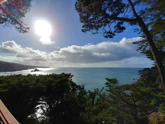 Whale Watch Inn by the Sea: View from Cliffside room