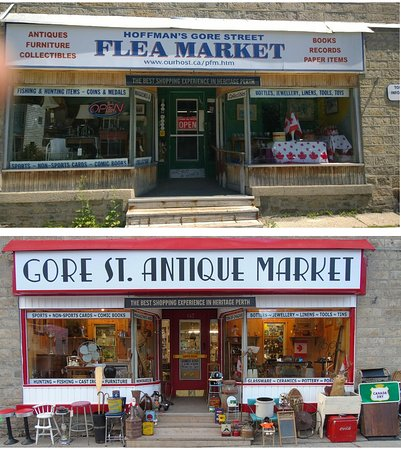 Gore St. Antique Market Perth Ontario Lanark County