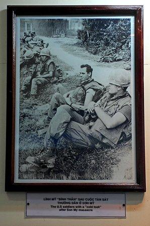 Quang Ngai, فيتنام: My Lai, US-Soldaten direkt nach dem Massaker
