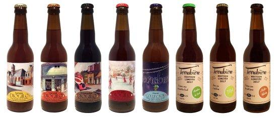 Deuil-la-Barre, France: Gamme de bières de la microbrasserie Terrabière