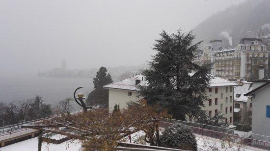 Territet, İsviçre: Vista terrazzo...