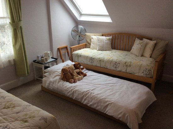 Moretonhampstead, UK: 'Mardon' Double junior suite / Family Room - Daybed and trundle