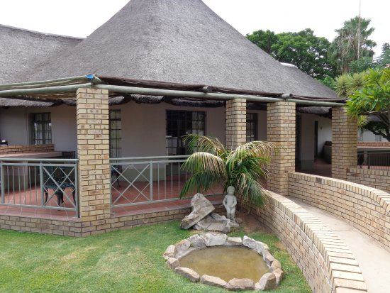 Traditional hotel with best steak in Ghanzi